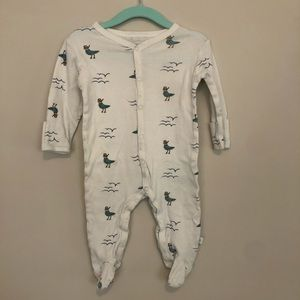 Rosie Pope seagull footed pajama